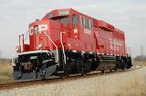 Diesel Locomotive Train Canadian Pacific 2
