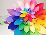 Rainbow Origami @ Pinterest...