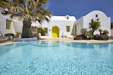 Greek luxury villa and pool