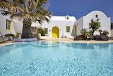 Greek luxury villa and pool