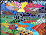 Quilted Canvas - Vibrant