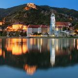 Durnstein, Night, Austria