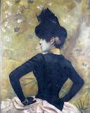 Georges-Antoine Rochegrosse, Élégante au corsage noir