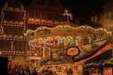 Christmas merry-go-round at Frankfurt on Main in Germany
