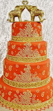 #Amazing East Indian Wedding Cake