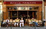 Cafe in Paris shop France