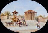 The Temple of Vesta by Domenico Amici