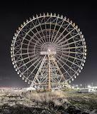 Abandoned Ferris Wheel amusement park Japan