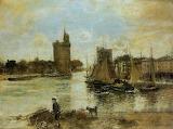 The Port of La Rochelle - JF Raffaelli 1876