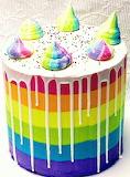 Colorful cake @ Complete Deelite