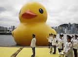 Rubber Duck in Hong Kong 2013