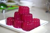 Dragonfruit-jelly
