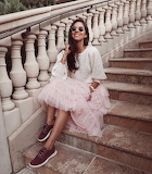 Pink Tulle and Sneakers