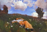Eero Järnefelt, Saimi in the Meadow, 1892