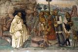 Abbazia Monte Oliveto Maggiore Siena affresco Sodoma 07 dottrina