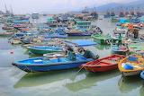 fishing boats, Hong-kong