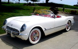 ^ Corvette, 1953, the first year of production