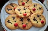 Kruche ciasteczka-reniferki