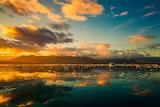 Iceland Iceberg Sunset