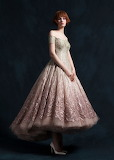 Pink & Gold Sparkly Dress
