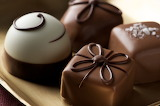 Fancy chocolate truffles