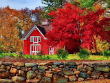 Autumn Barn @ Desktopnexus.com...