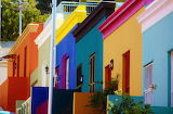 ☺♥ Colorful facades...