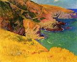Belle île en Mer by Henri Moret 1892