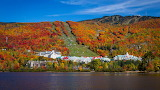 Autumn in Mont Tremblant Quebec Canada