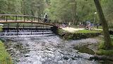 The Bosnia river source,Ilidza,Sarajevo