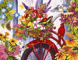 The Old Bicycle & Friends by Nancy Wernersbach