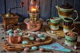 Coffee & Home Made Macarons