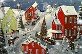 Winter Vintage Village