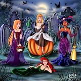 #Disney's Princesses Halloween