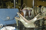 ^ Wedgwood partnered with high-couture English shoe designer H &