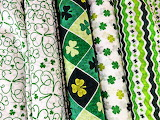 #Bolts of St. Patrick's Day Fabric
