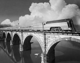 Reading RR over the Schuylkill 1937