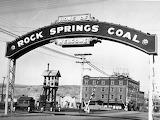 Rock Springs, Wyoming Coal sign