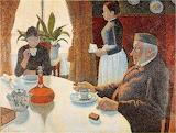 Paul Signac, Le petit déjeuner, 1887