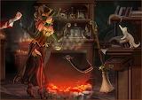 Halloween Lady Witch