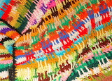 Colorful-crochet-afghan