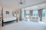 Master Bedroom with Ocean Walled View