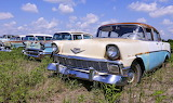 Chevrolets awaiting restoration