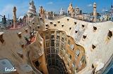 Casa Mila - Antonio Gaudi - Barcelona