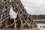 Bride outdoor activity female