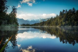 Lake Matheson, NZ by Marta Kulesza