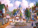 Peaceful Village~ DennisLewin
