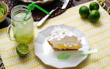 ^ Lime meringue pie and limeade