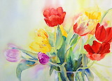 ^ Tulip Rainbow #2 ~ Ruth S Harris