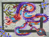 The Quilt with the Dragon Tattoo, Nancy Arsenault